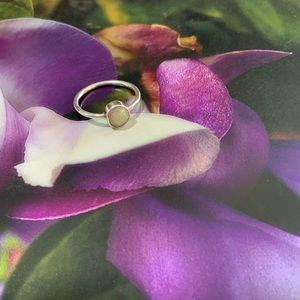 Opal Ring 925 Silver